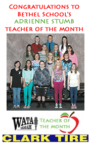 Adrienne Stumb is Teacher of the Month