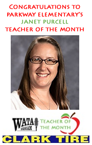 Janet Purcell is Teacher of the Month