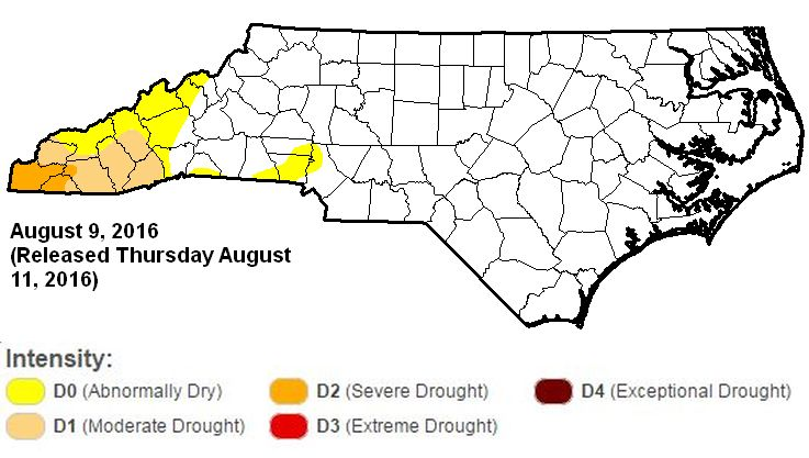 Small part of Massachusetts said to be in 'extreme' drought